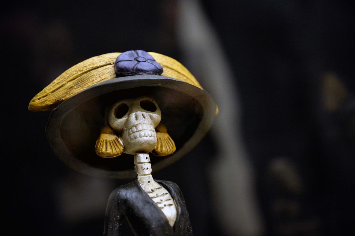 Z výstavy Rituály smrti