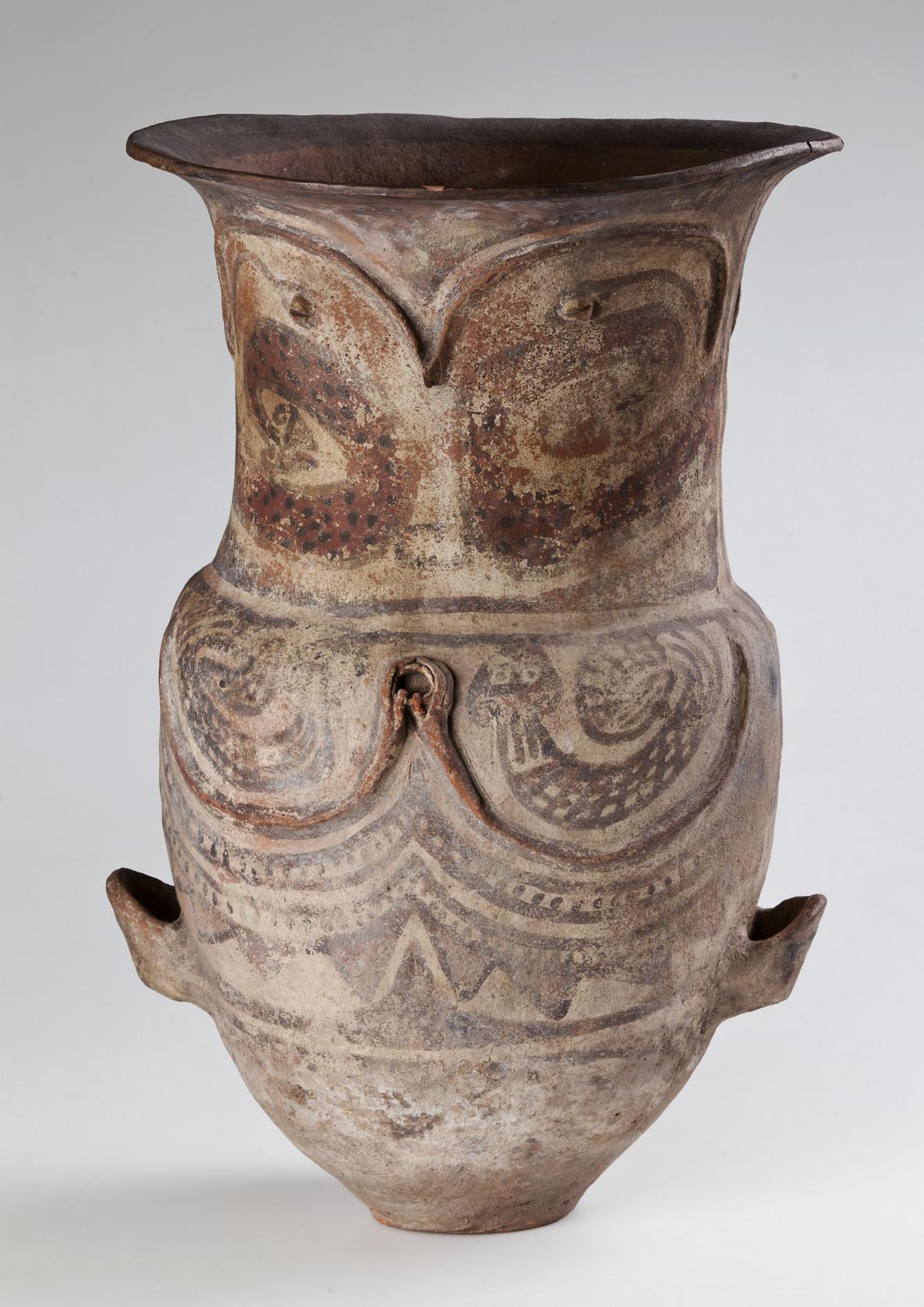 Dětská keramická pohřební urna