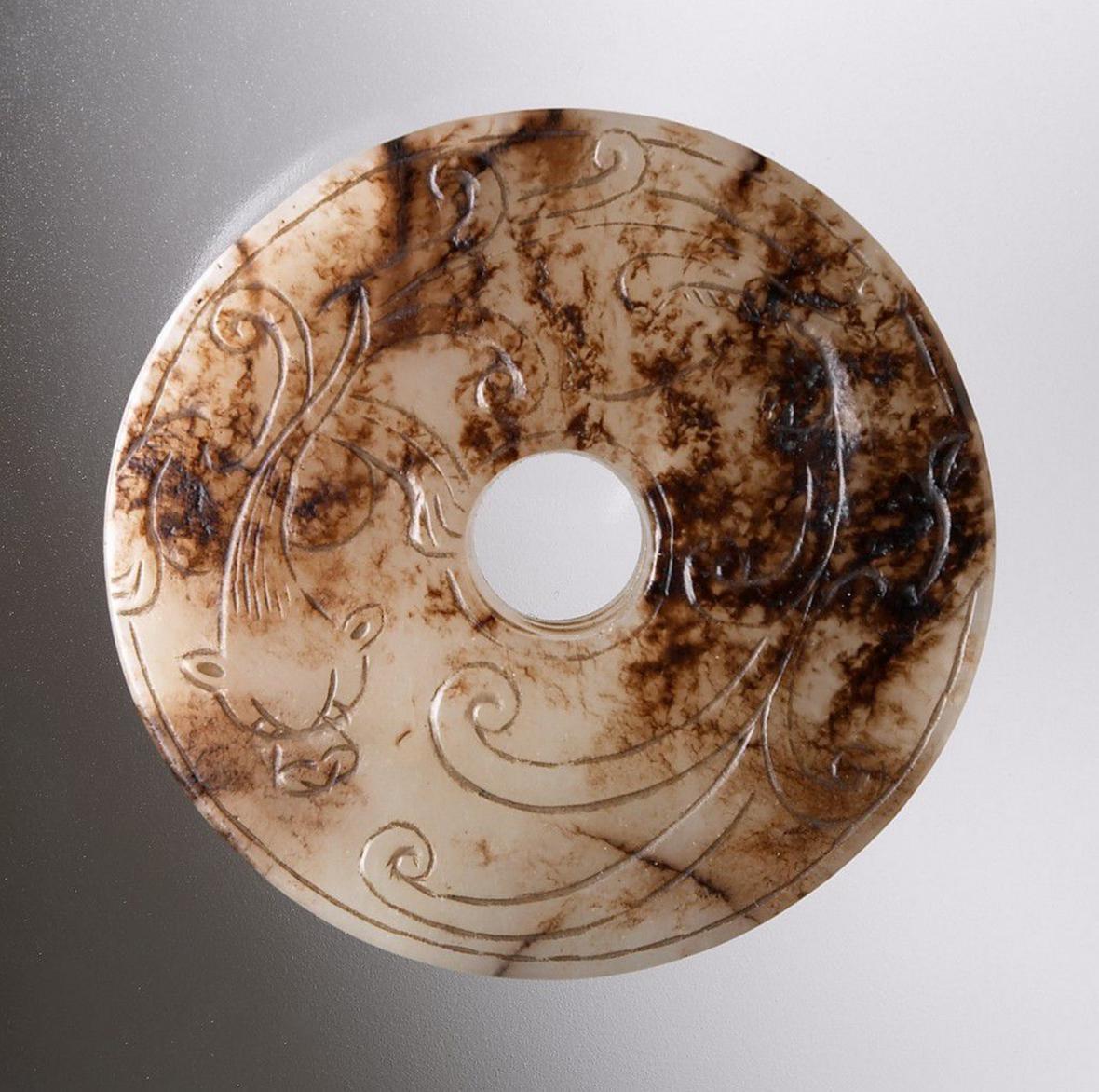 Nefritový disk pi