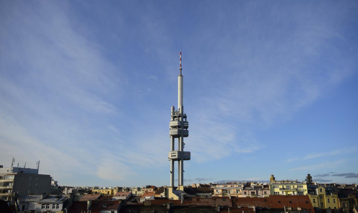 Vysílač v Praze na Žižkově
