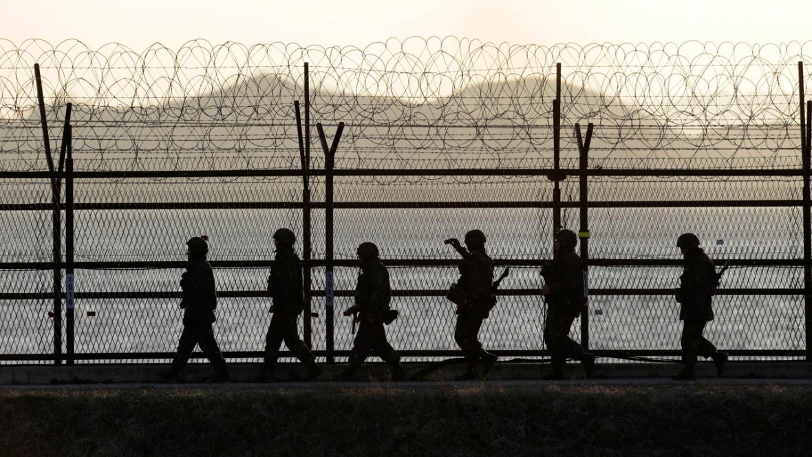 Hranice mezi Jižní a Severní Korejí