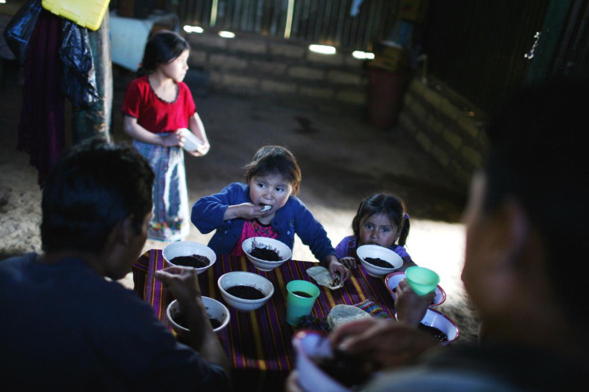 Děti z Guatemaly