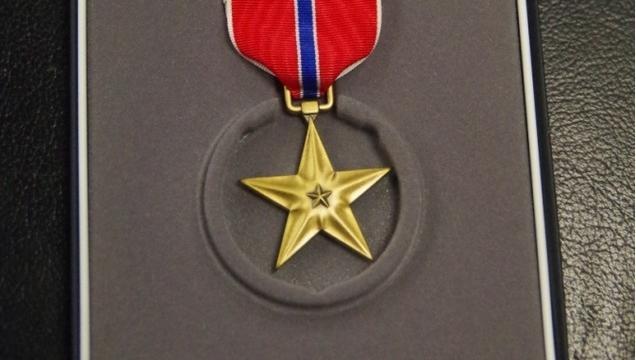 Bronzová hvězda - vyznamenání americké armády