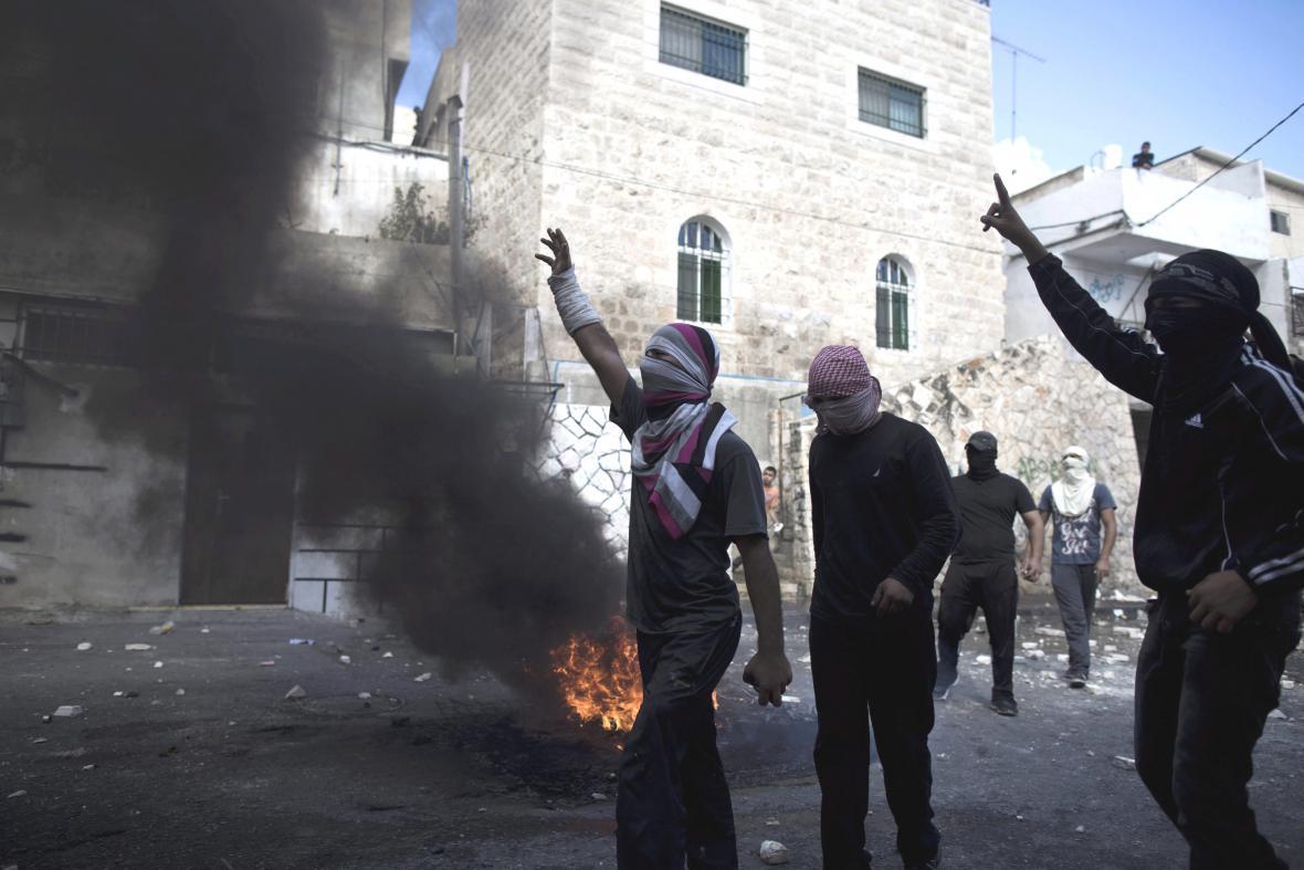 Potyčky s Palestinci