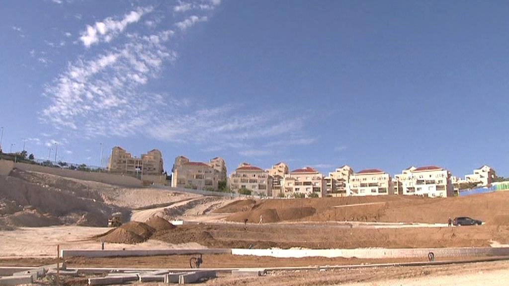 Izraelské osady na palestinském území