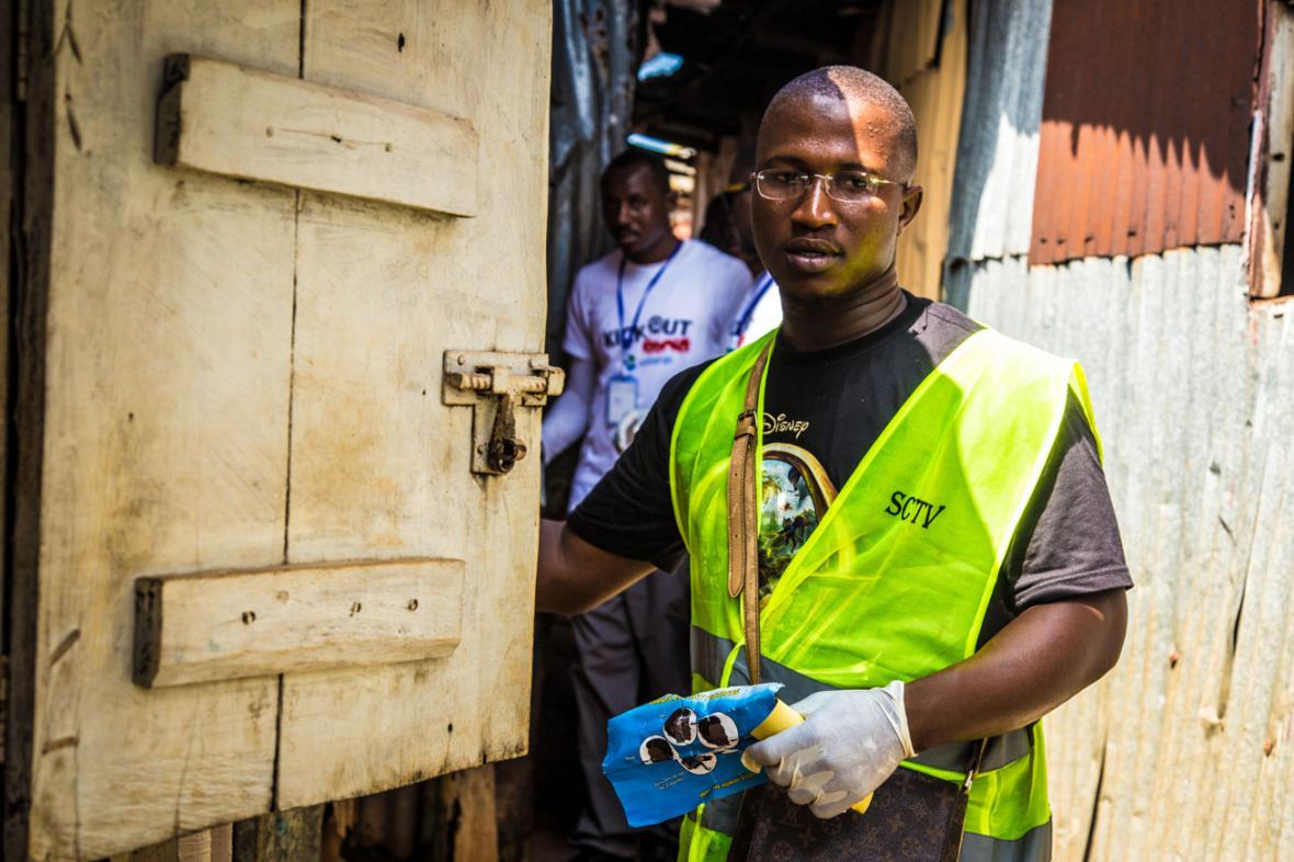 Osvětová kampaň proti ebole v Sieře Leone