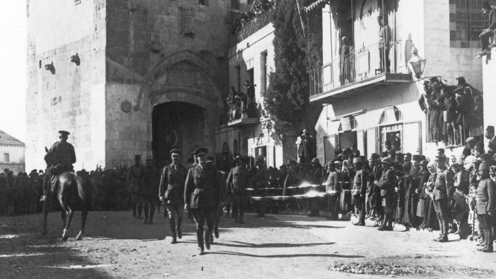 Generál Allenby vchází do Jeruzaléma