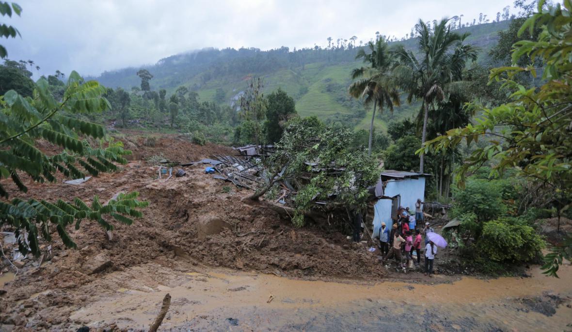 Sesuvy půdy na Srí Lance