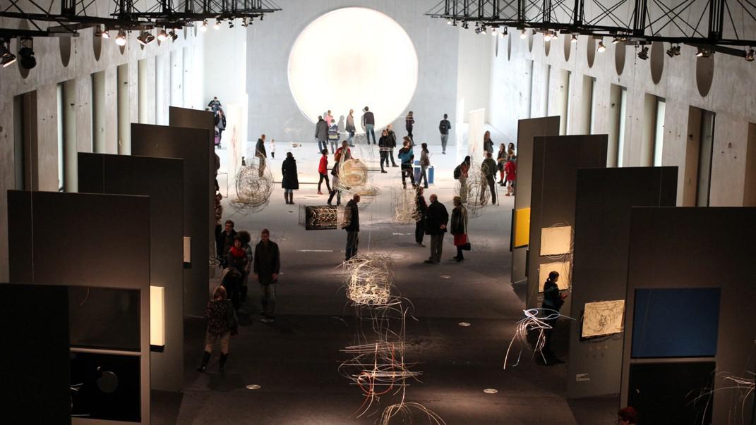 Výstava Karel Malich / pohled do expozice