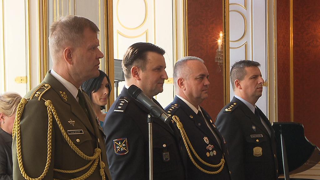 Zleva: Josef Bečvář, Tomáš Tuhý, František Zadina, Pavel Ondrášek