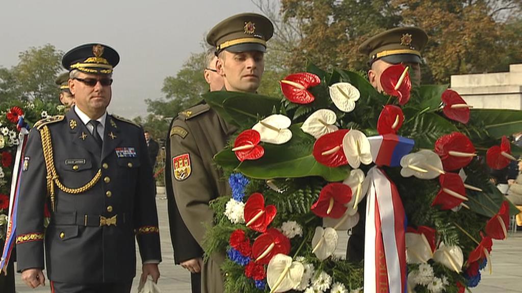 Ceremoniál na Vítkově k 96. výročí vzniku ČSR