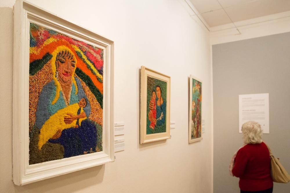 Výstava Rudolfa Dzurka v Muzeu romské kultury