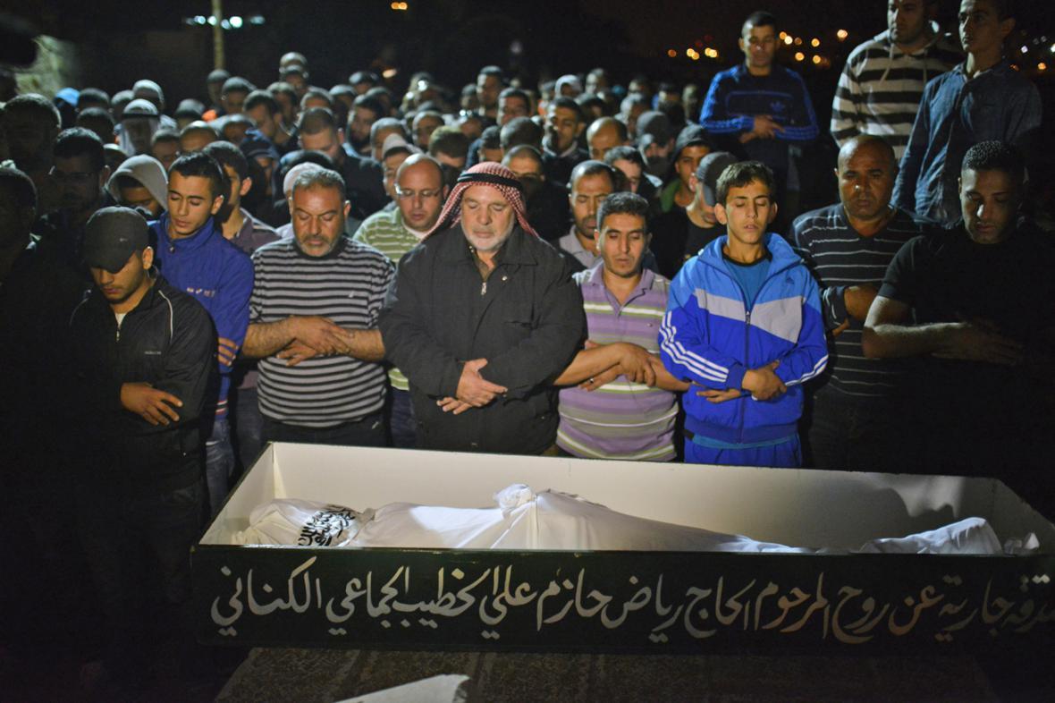 Pohřeb Abdala Rahmána al-Šalúdího