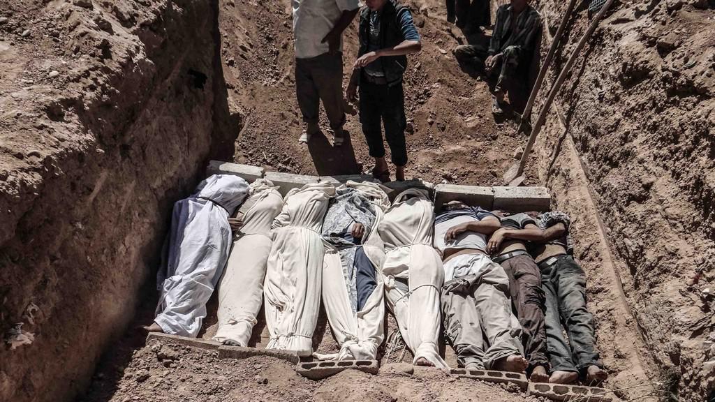 Syrské oběti útoku u Damašku