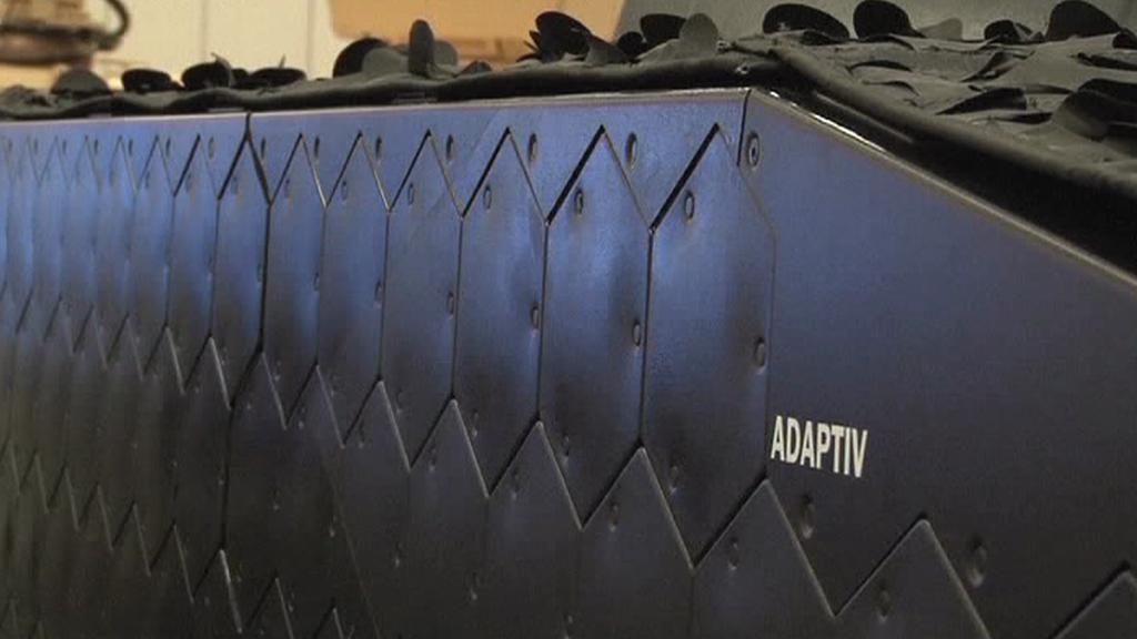"""""""Neviditelný"""" tank projektu Adaptiv"""