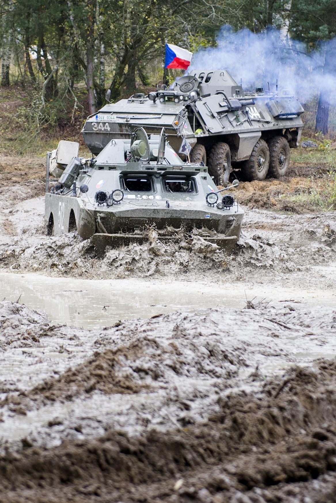 Vojenská technika na Plachtě