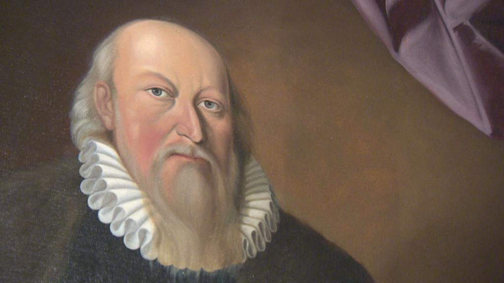 Petr Vok na zámku v Třeboni