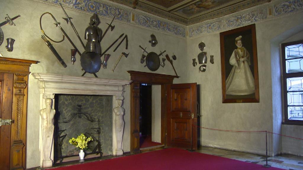 Ze zámku v Telči