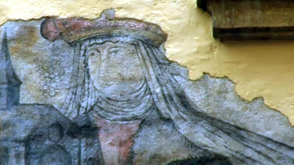 Freska odhalená v Olomouci
