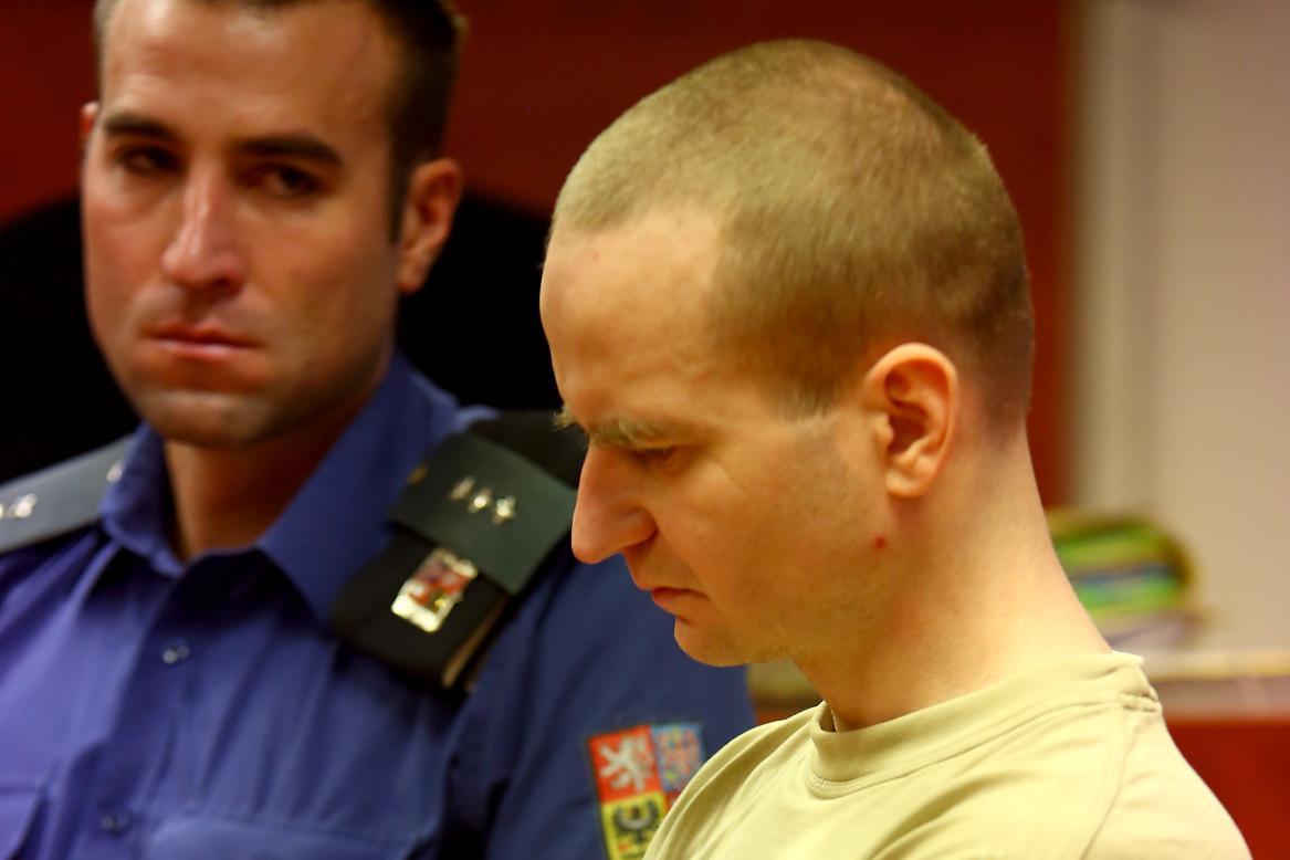 Michal Krnáč u soudu