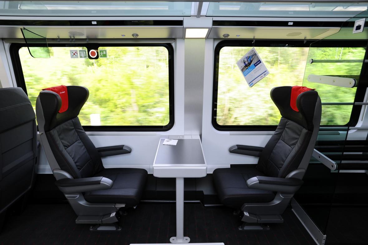 Railjet: První třída