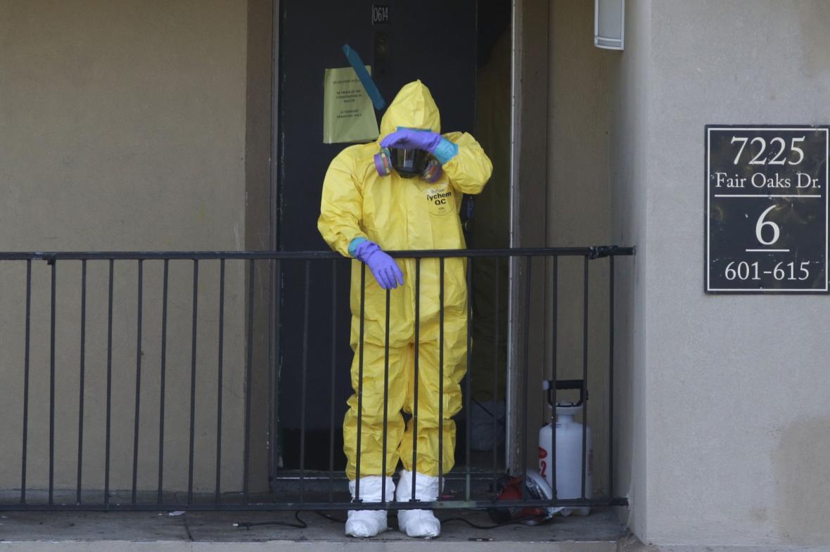 Ebola v USA
