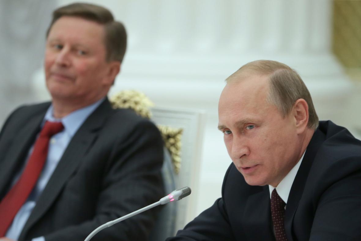 Sergej Ivanov a Vladimir Putin