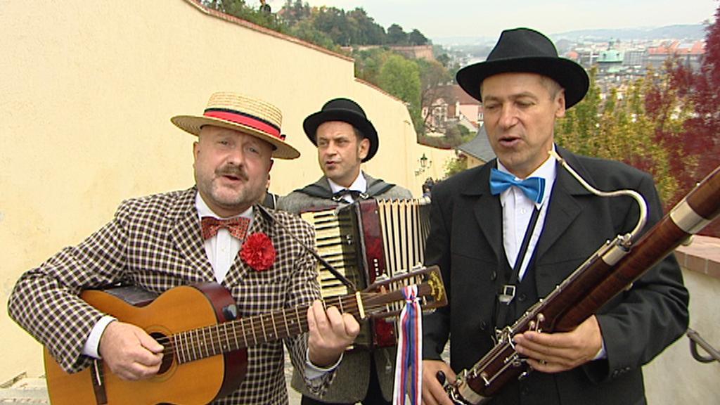 Skupina Fiakr hraje písničky Karla Hašlera
