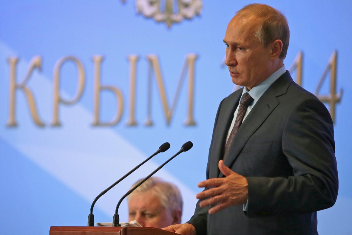 Vladimir Putin na návštěvě Krymu