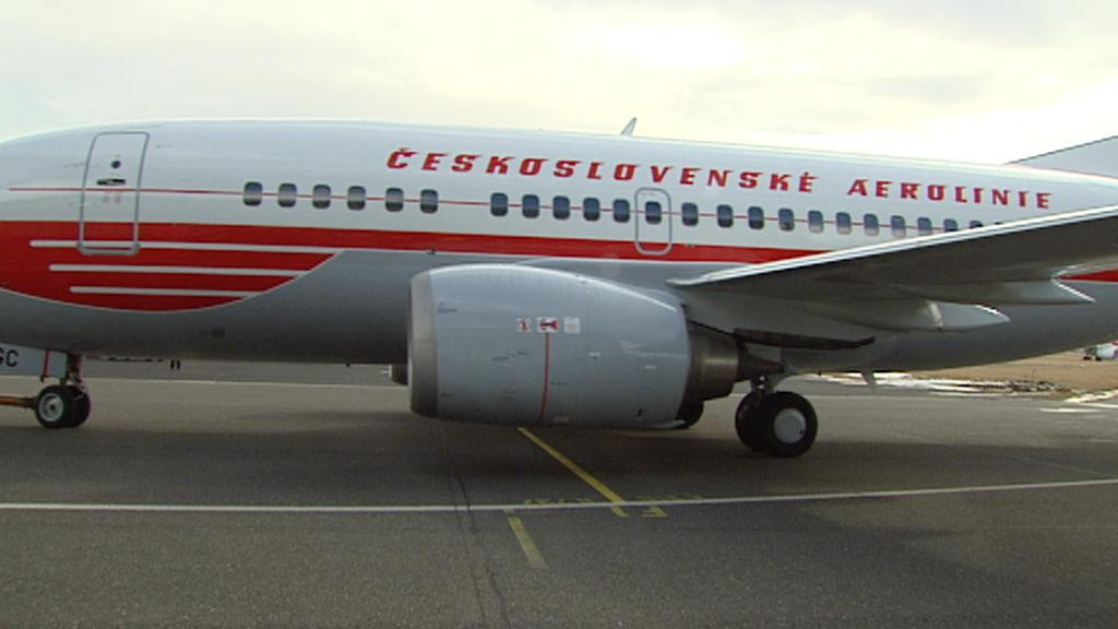 Letadlo ČSA v