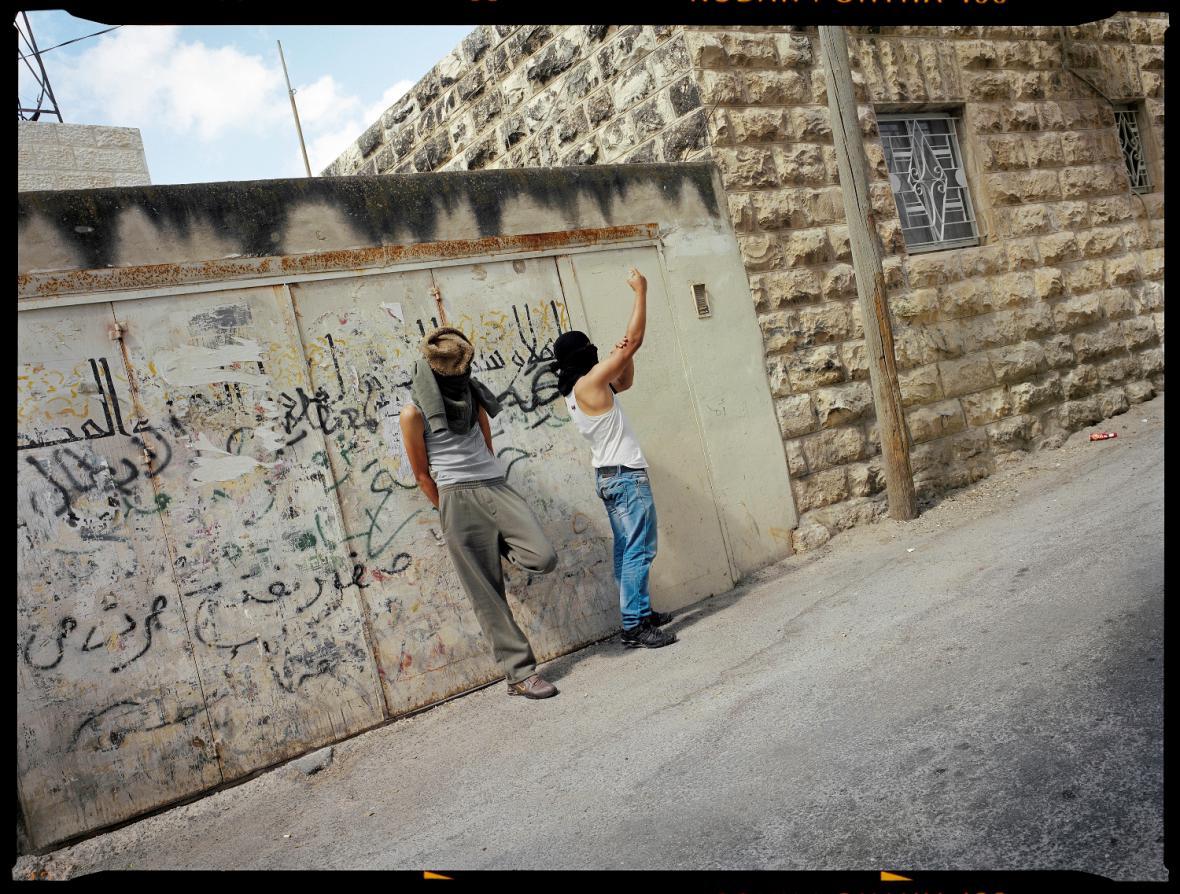 Gilles Peress / Silwan, Východní Jeruzalém, poblíž Ras al-Amud, 2011