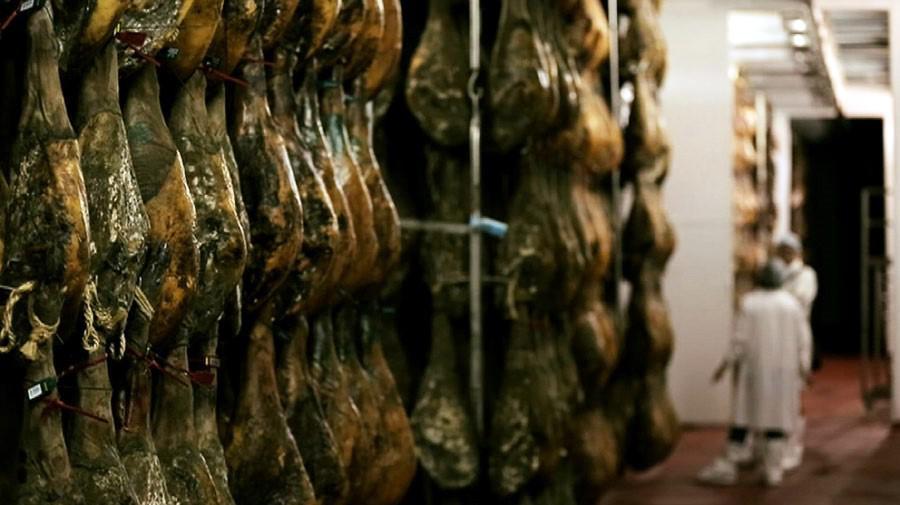 Výroba iberské šunky