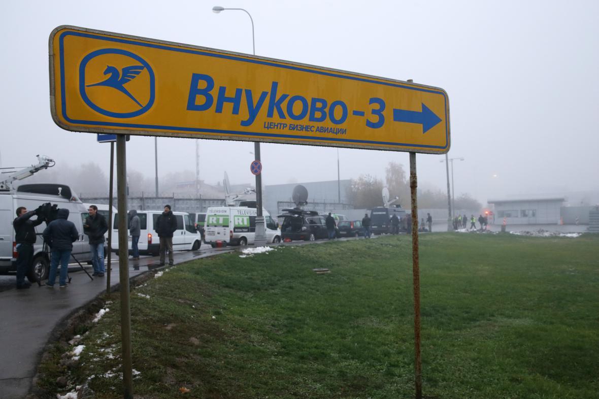 Moskevské letiště Vnukovo