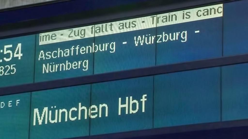 Stávka Deutsche Bahn