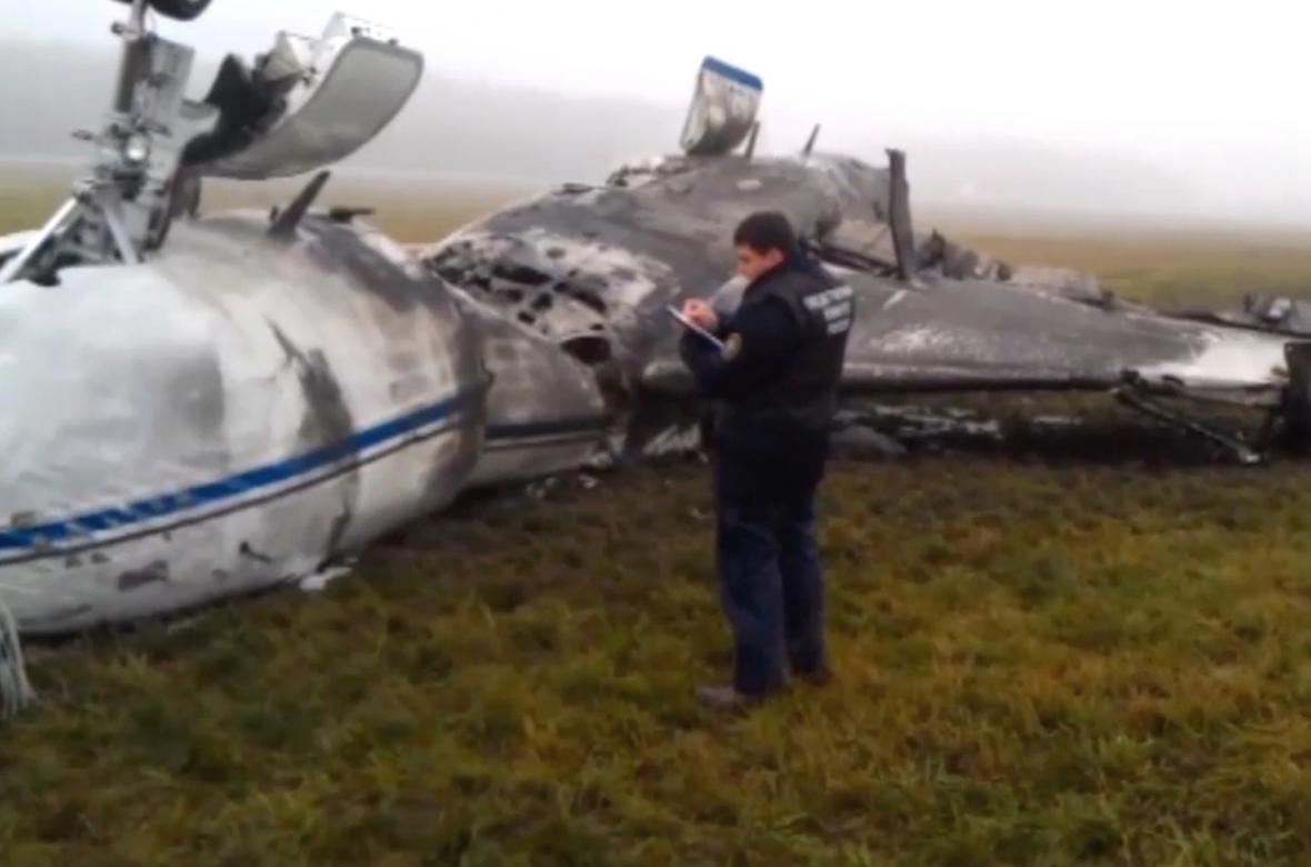 Nehoda na letišti Vnukovo