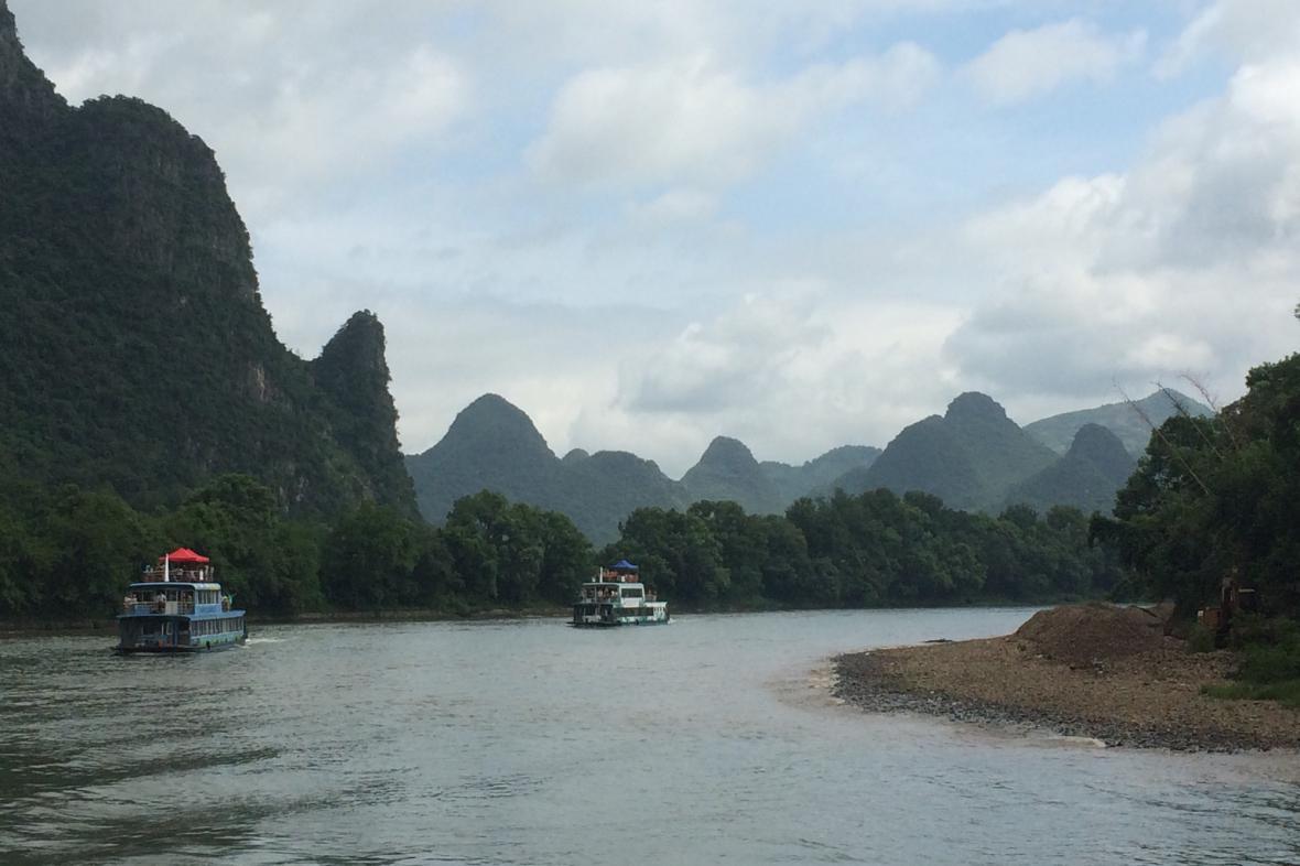 Údolí řeky Li