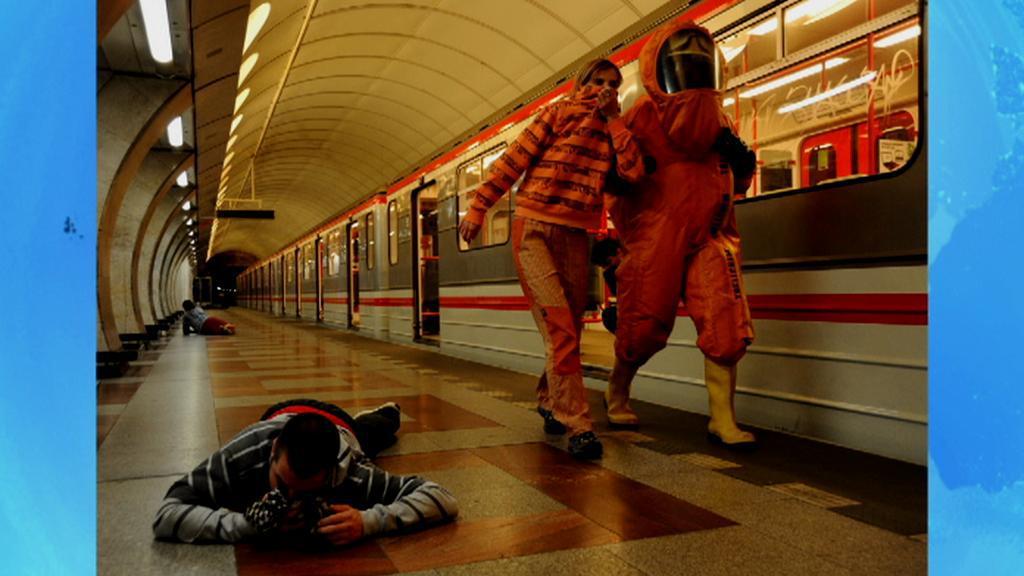 Cvičení v metru