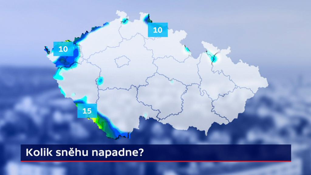 Kolik sněhu napadne?