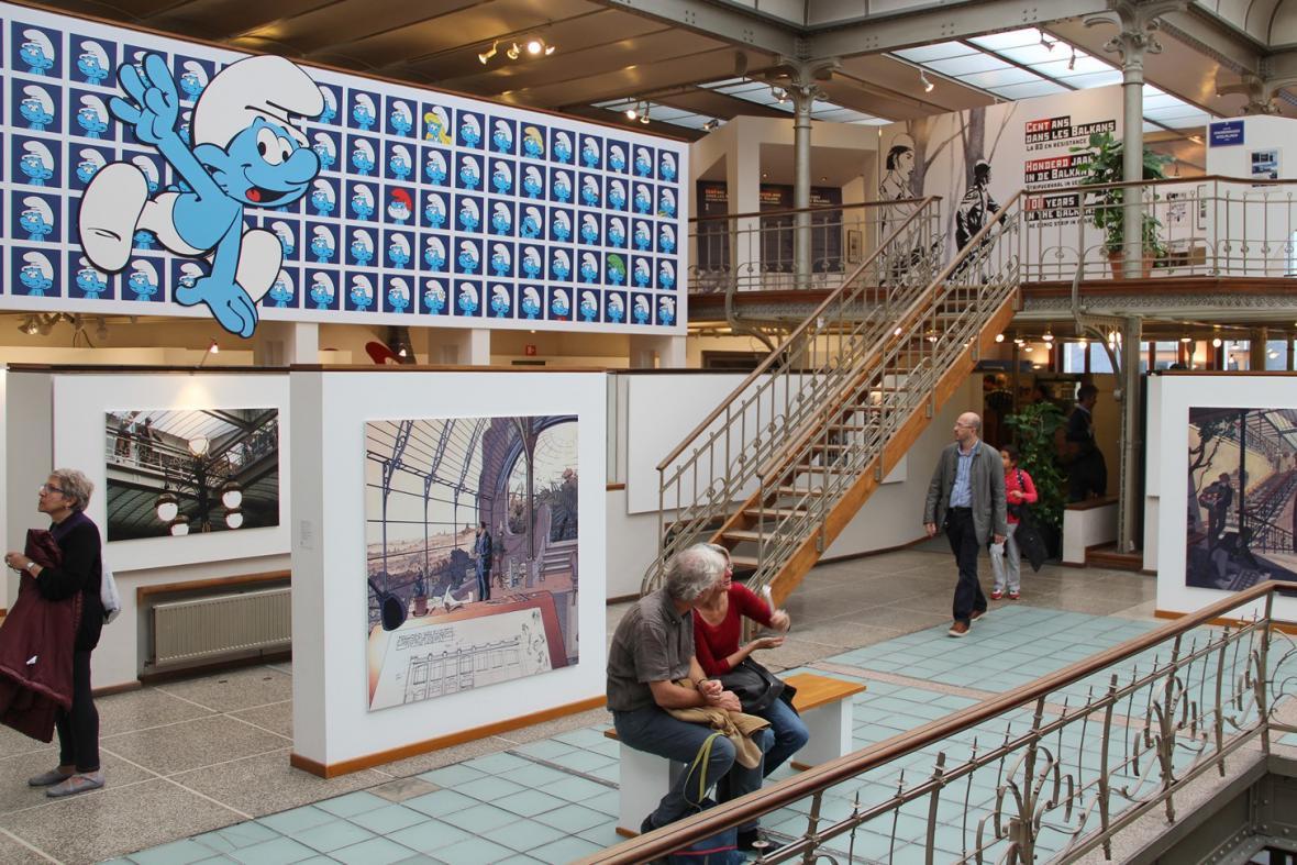 Muzeum komiksu v Bruselu