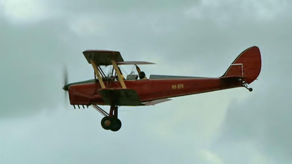Závod dvouplošníků Great Tiger Moth
