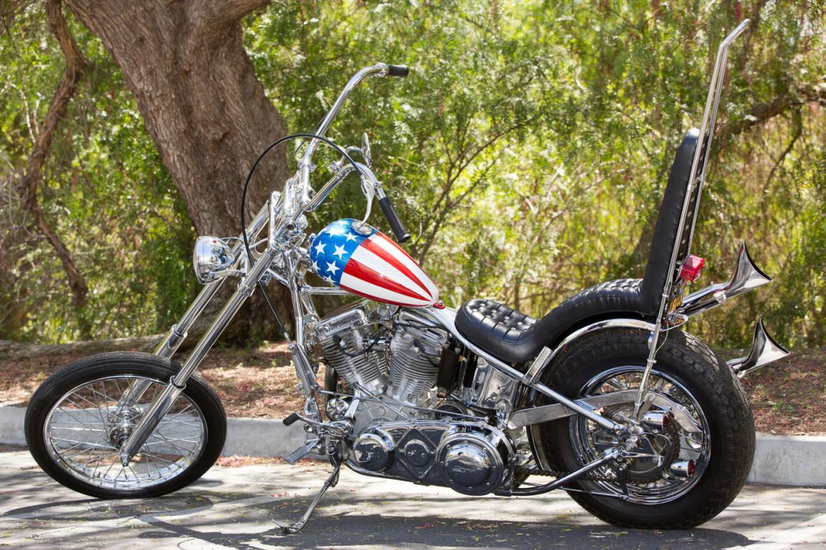 Fondův Harley Davidson z Bezstarostné jízdy