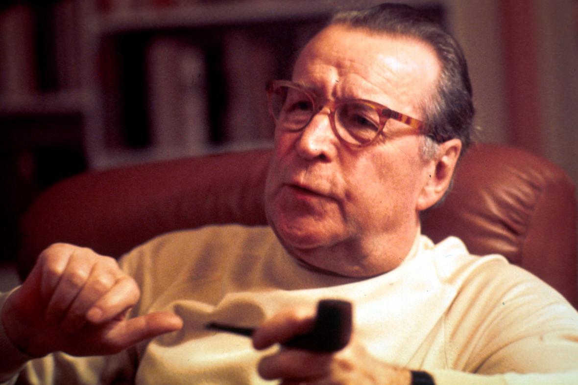 Georges Simenon, 1978