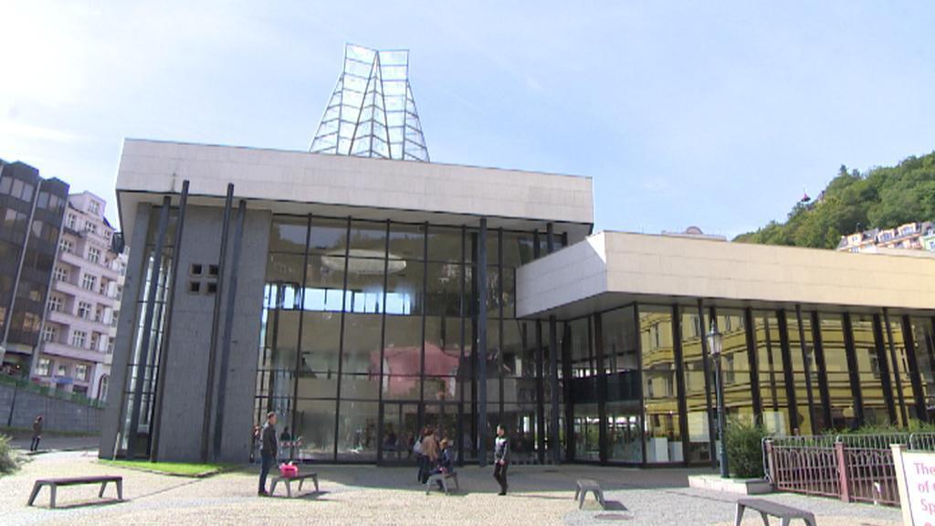 Vřídelní kolonáda v Karlových Varech