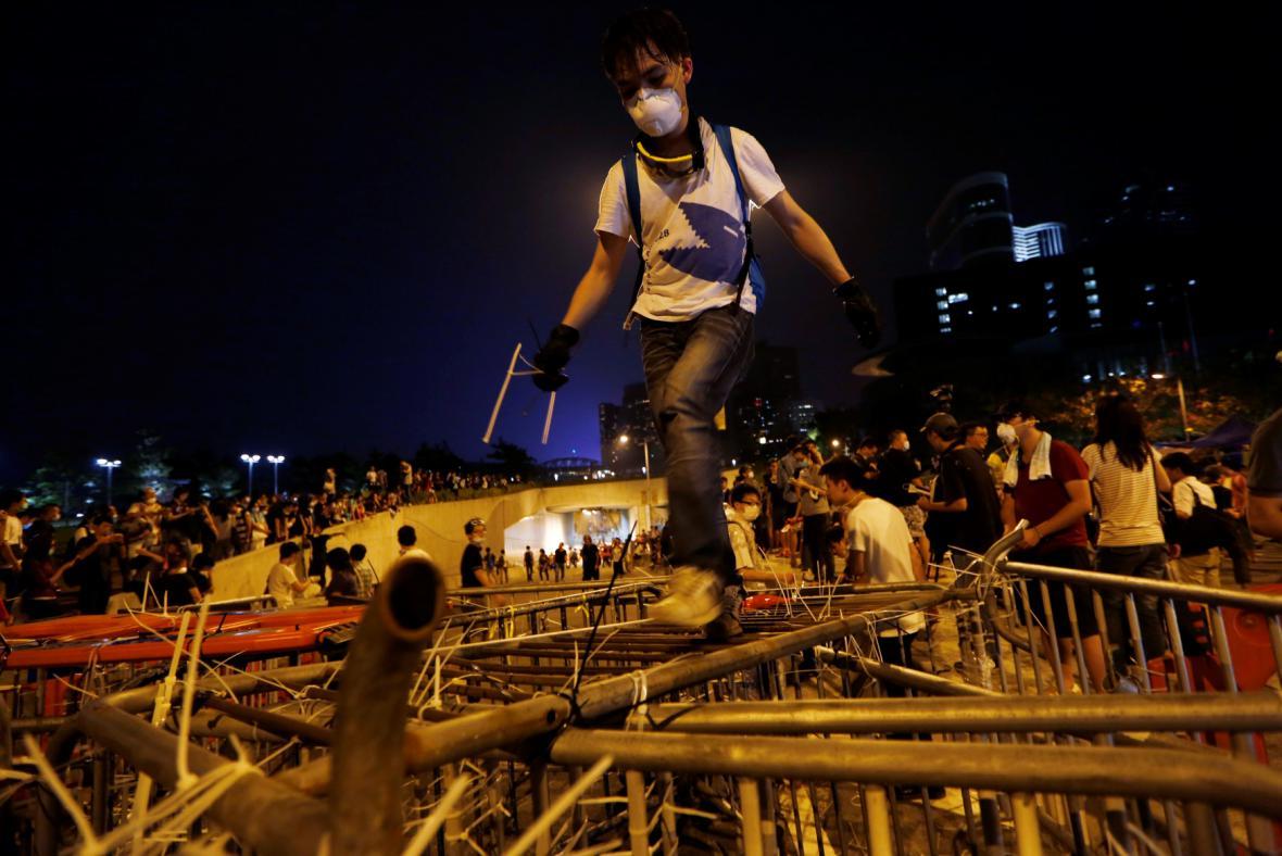 Situace v Hongkongu se dramatizuje