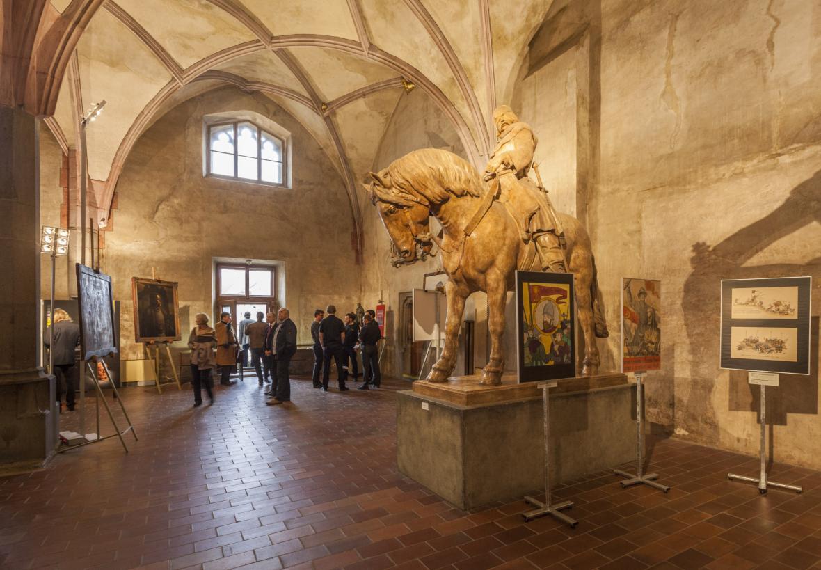 Výstava o Janu Žižkovi v táborském muzeu