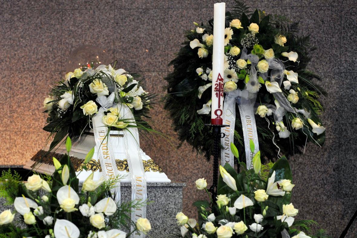 Pohřeb Petra Vejvody