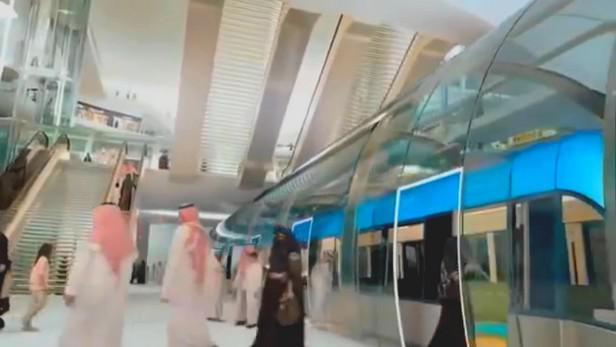 Projekt metra v saúdskoarabském Rijádu