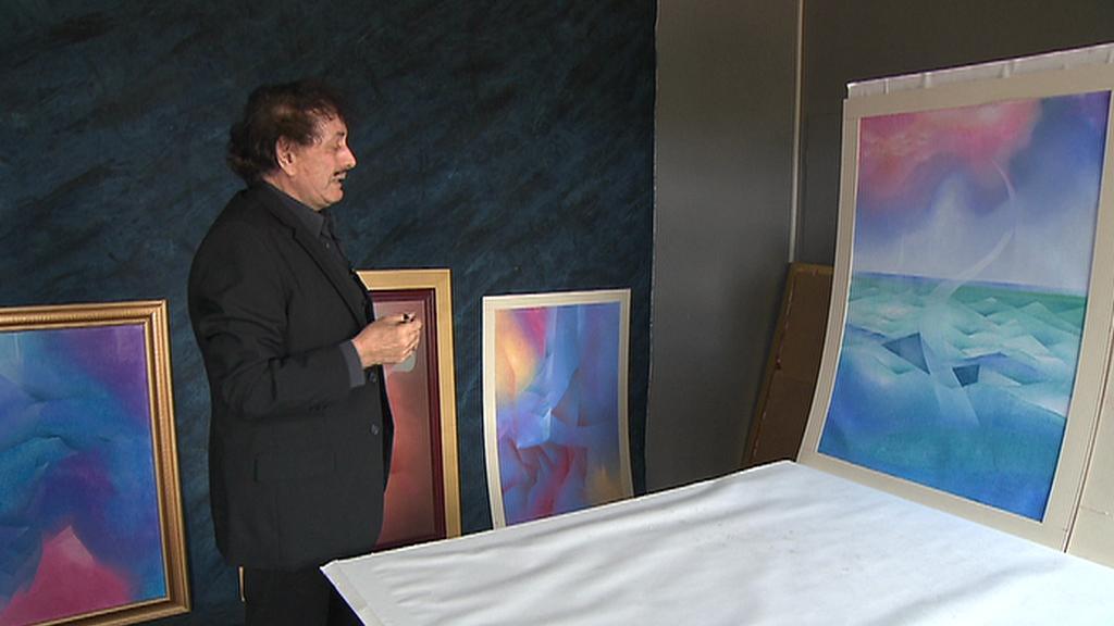 Malíř Ivan Neumann