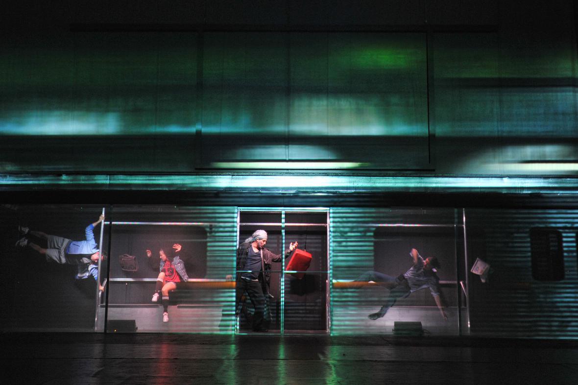 Muzikál Duch v Městském divadle Brno