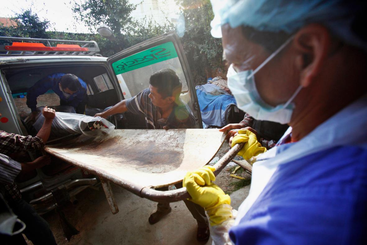 Oběť horského neštěstí v Nepálu